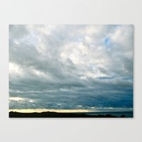 Grace Clouds Canvas Print
