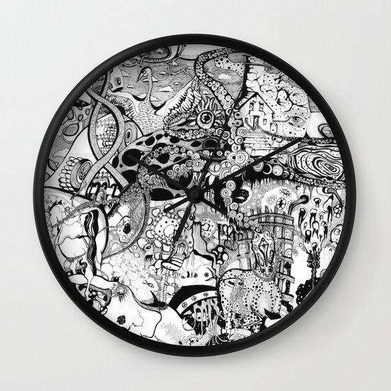 Destroyer Wall Clock