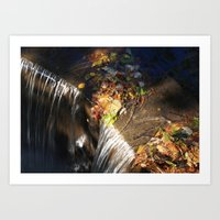 At the Top of the Spillway Art Print