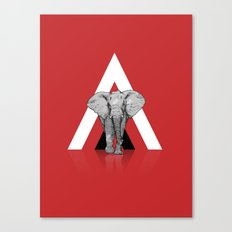 Because I Can't Forget - RED Canvas Print