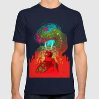 Anung Un Rama Mens Fitted Tee Navy SMALL