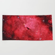 Emission Nebula Beach Towel