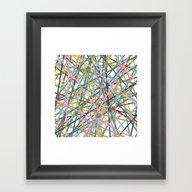 Kerplunk Extended Framed Art Print