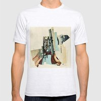 Mono Mens Fitted Tee Ash Grey SMALL