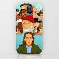 The World Of Wes Anderso… Galaxy S5 Slim Case
