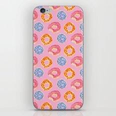 sweet things: doughnuts (pink) iPhone & iPod Skin