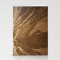 Running Sand Stationery Cards