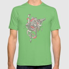 ASW Mens Fitted Tee Grass SMALL