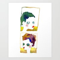 No Name But A Frame Art Print