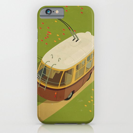 Trolley Rides The Field iPhone & iPod Case