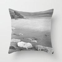 White rock Throw Pillow