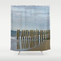nieuw haamstede 2 Shower Curtain