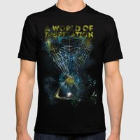 A World Of Inspiration Mens Fitted Tee Black SMALL