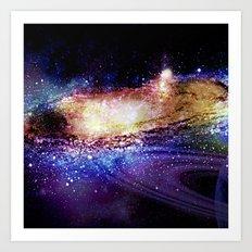 Space Explosion Art Print