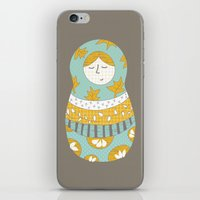 Autumnish Mamushkas iPhone & iPod Skin
