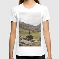 ICELAND I Womens Fitted Tee White SMALL