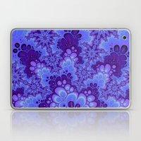 Purple Fractal art Laptop & iPad Skin