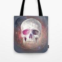 Astral Skull Tote Bag