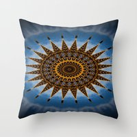 Child's view Throw Pillow