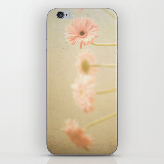 Textured Flowers (vintage flower photography) iPhone & iPod Skin