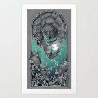 The Bird Keeper Art Print