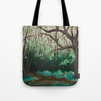 The Path To The Pond Tote Bag