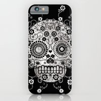 iPhone & iPod Case featuring Sugar Skull by Farnell
