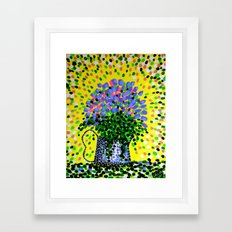 Explosive Flowers Framed Art Print