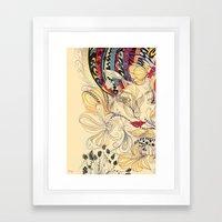 jardineira Framed Art Print