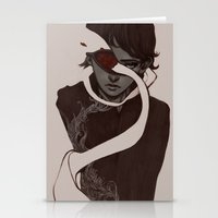 Jammed Stationery Cards