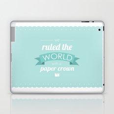 Paper Crown Laptop & iPad Skin
