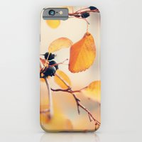 iPhone & iPod Case featuring yellow autumn by Kristina Strasunske