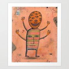 I, Monster Art Print