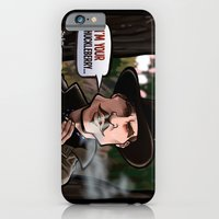 iPhone & iPod Case featuring I'm Your Huckleberry (Tombstone) by BinaryGod.com