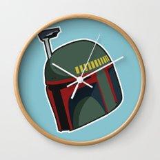 Fett Bucket Wall Clock