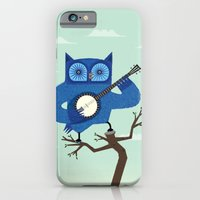 iPhone & iPod Case featuring The Banjowl by Oliver Lake
