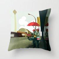 Alexander Platz II Throw Pillow