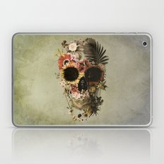 Garden Skull Light Laptop & iPad Skin