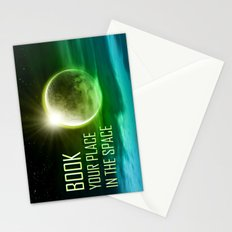 Book your place in the space Stationery Cards