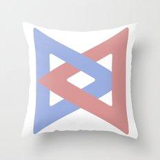 Infinity Clip Throw Pillow