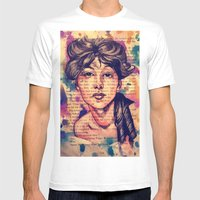 Agnes Mackenzie Mens Fitted Tee White SMALL