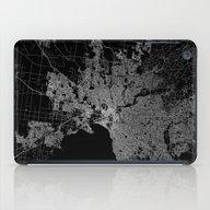 Melbourne Map Australia iPad Case