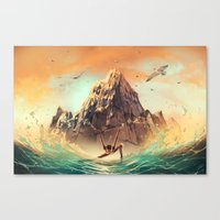 CAPRICORN from the Dancing Zodiac Canvas Print