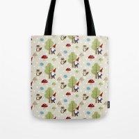 Woodland Forest Tote Bag