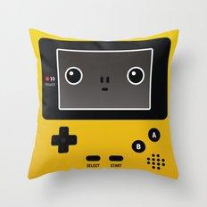 Game boy color Throw Pillow