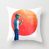 Sayonara Throw Pillow
