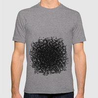 Amorphous Mens Fitted Tee Athletic Grey SMALL