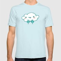 Thunderpants Mens Fitted Tee Light Blue SMALL