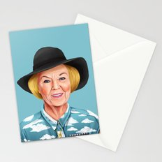 Hipstory - Queen Beatrix of the Netherlands  Stationery Cards
