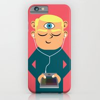 iPhone & iPod Case featuring Evolution: the Near Future by Mouki K. Butt